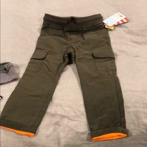 Lined Cat and Jack cargo pants